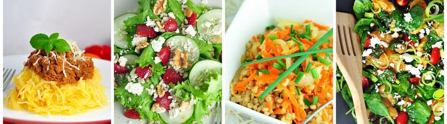 Recetas de almuerzos y cenas con vegetales