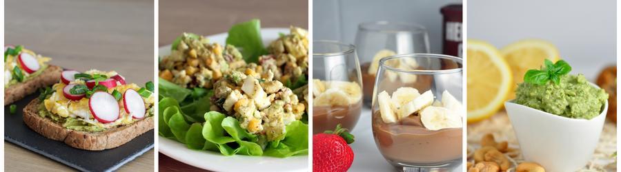 Recetas saludables de desayunos con aguacate