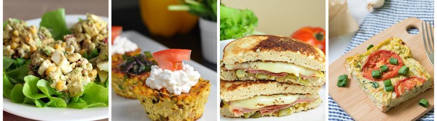 Recetas fitness de desayunos altos en proteínas