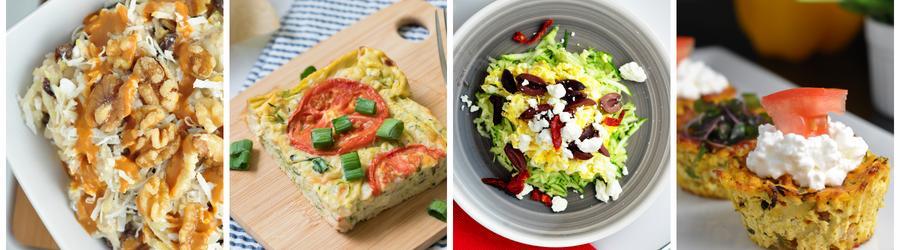 Recetas saludables de desayunos con calabacín