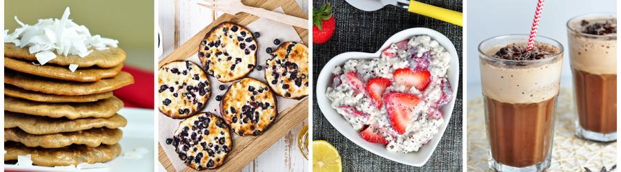 Recetas de desayunos fitness con proteína en polvo