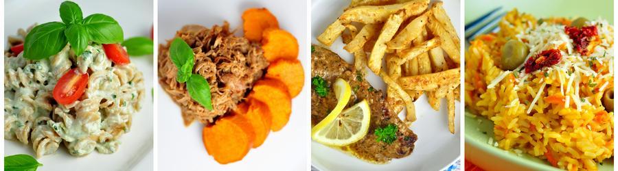 Recetas de almuerzos y cenas bajas en calorías para adelgazar
