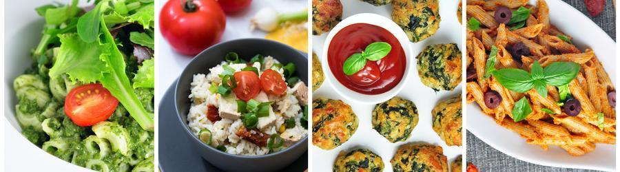 Recetas vegetarianas saludables (sin carnes)