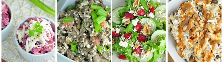 Recetas de ensaladas bajas en calorías para adelgazar