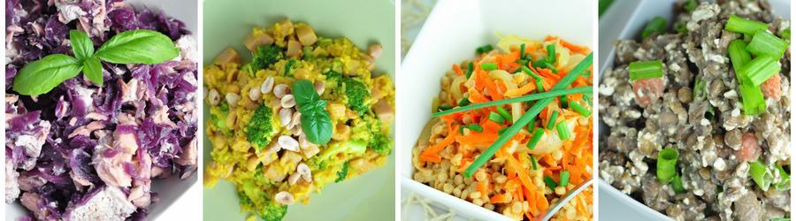 Recetas de ensaladas low fat