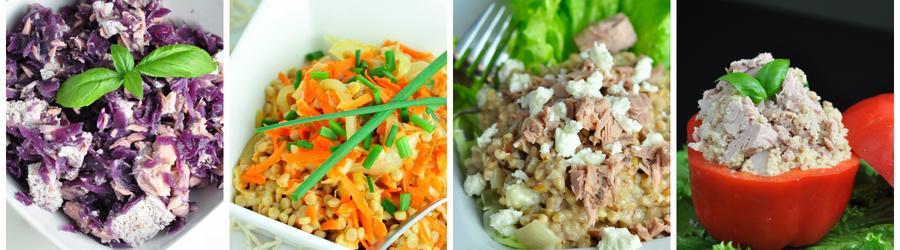Recetas saludables de ensaladas con atún