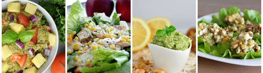 Recetas saludables de ensaladas con aguacate