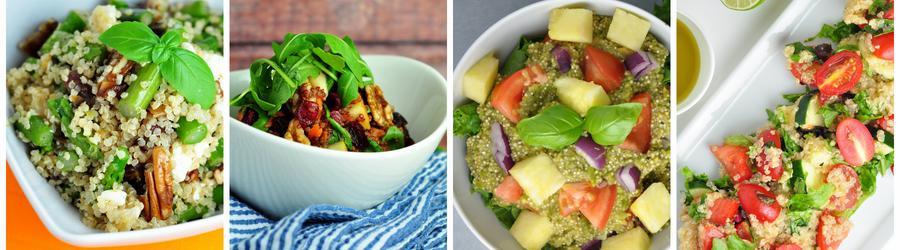Recetas saludables de ensaladas con quinoa